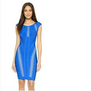 Herve Leger Taja Cutout Dress